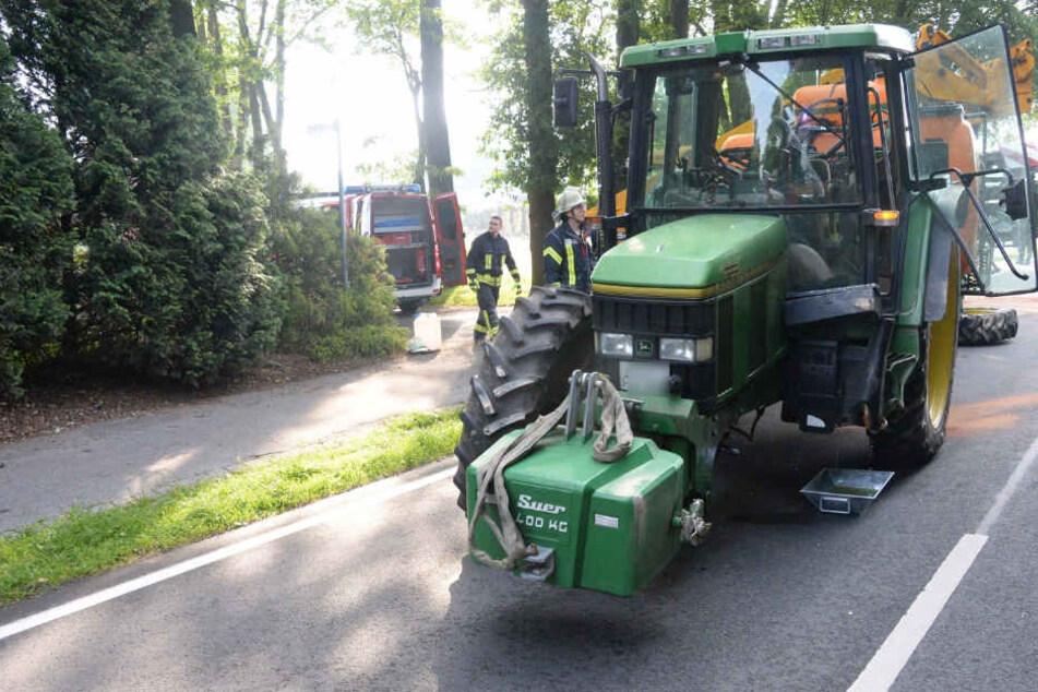 Glücklicherweise blieben beide Fahrer unverletzt.