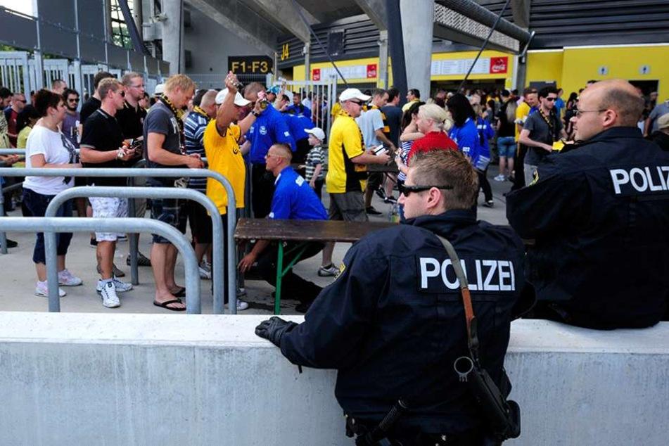 Dynamo Dresden wurde vom DFB ein vorbildliches Sicherheitskonzept bescheinigt.