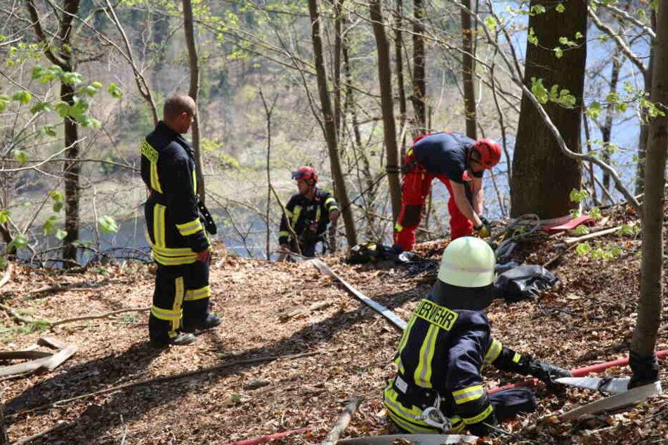 Großer Waldbrand flammt noch immer auf, da brennt schon das nächste Waldstück