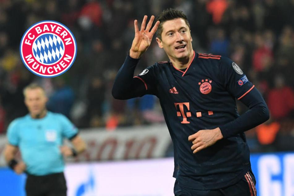 Lewandowski mit Vier-Tore-Gala gegen Roter Stern: FC Bayern sichert Gruppensieg!