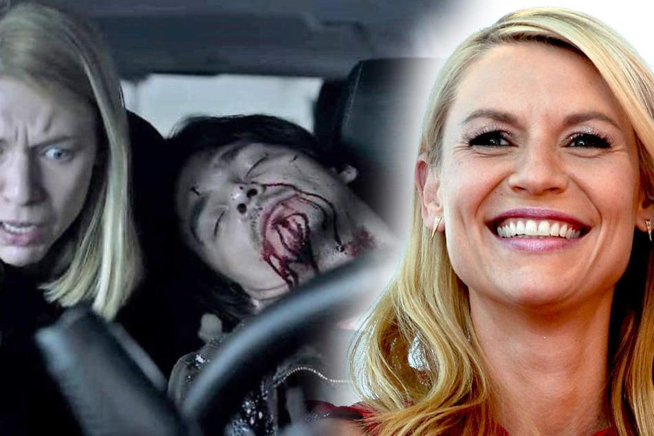 Homeland-Star Claire Danes (39, r.) geht in die letzte Staffel.