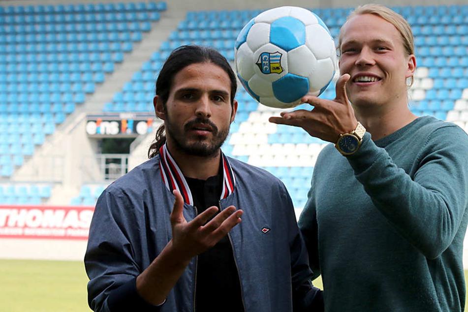 Santiago Aloi und Kimmo Hovi wechseln zum CFC.
