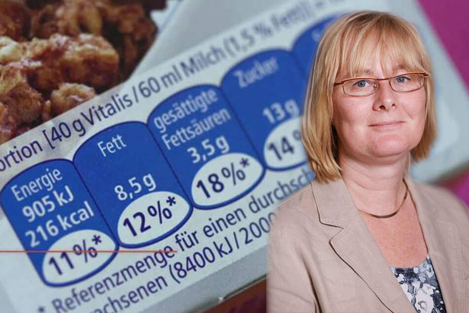 """""""Portionsangaben müssen zu einer leicht verständlichen Einkaufshilfe werden"""", fordert Dr. Birgit Brendel von der Verbraucherzentrale Sachsen."""