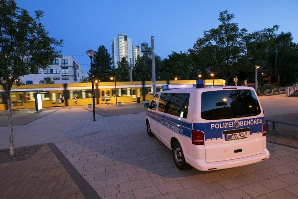 Erneut war die Polizei am Amalie-Dietrich-Platz im Einsatz. (Archivbild)