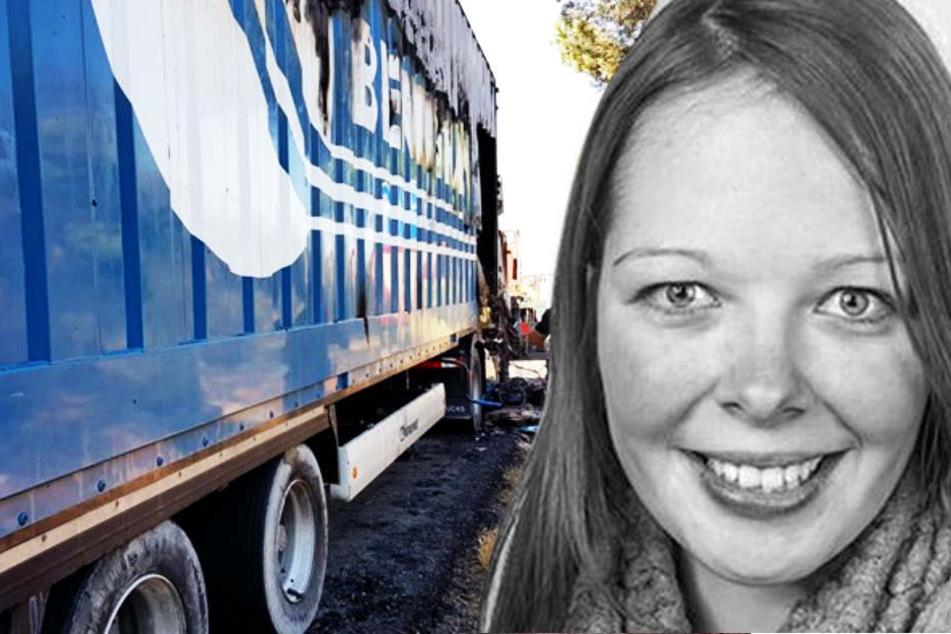 In diesem Truck wurde die ermordete Sophia quer durch Europa gefahren