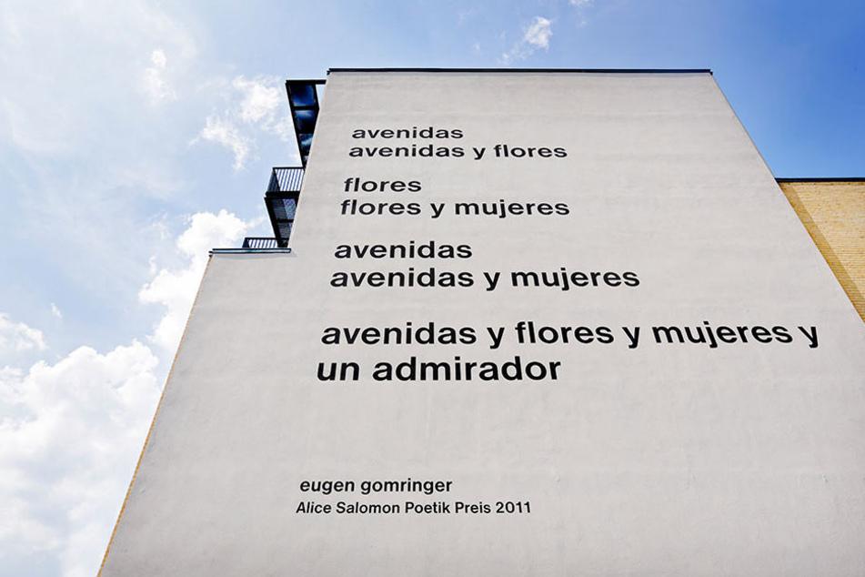 Nach Studenten-Protesten gegen ein Gedicht von Eugen Gomringer wird die Alice Salomon Hochschule in Berlin-Hellersdorf eine Fassade neu gestalten.