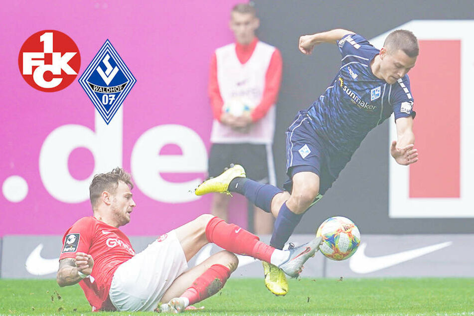 Hitziges Derby: Kaiserslautern und Mannheim mit umkämpften Remis