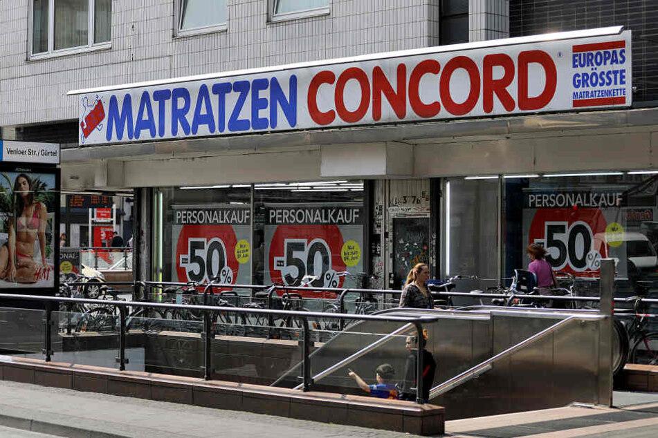 Matratzen Concord hat etwa 1600 Mitarbeiter in Deutschland, der Schweiz und Österreich.