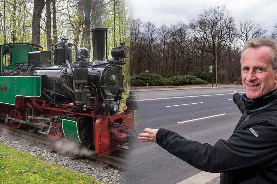 Parkeisenbahn will Anschluss an den Nahverkehr