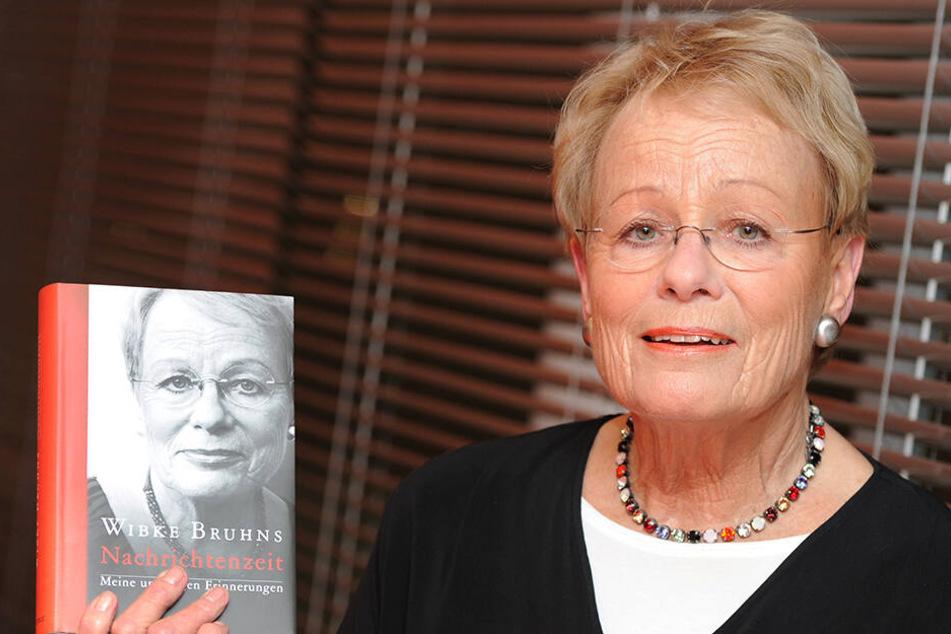 Wibke Bruhns (80) engagierte sich im Wahlkampf schon für die SPD.