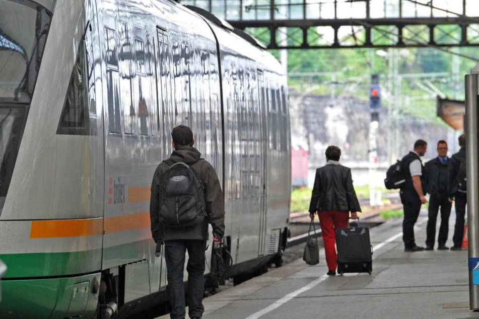 Die Schnellbahnstrecke zwischen Dresden und Prag soll bald gebaut werden.
