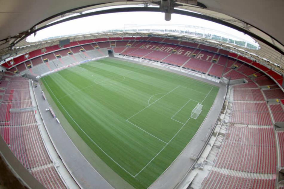 Spielort des Derbys am Sonntag: Die Mercedes-Benz Arena in Stuttgart.