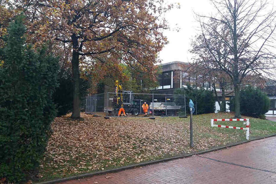 Architekt Christoph Parade will, dass seine Schule bald unter Denkmalschutz steht.