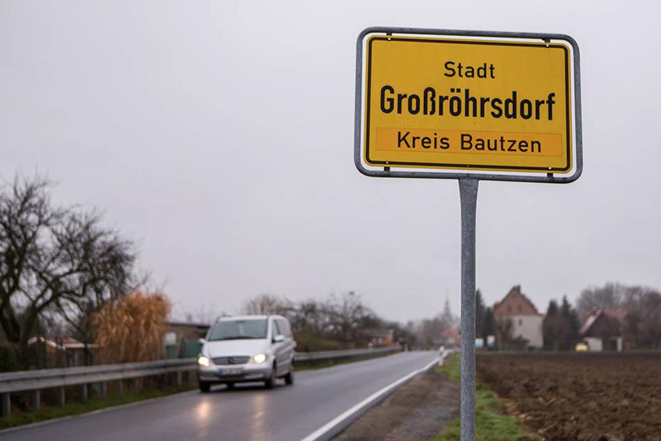 In Großröhrsdorf kam es am Freitag zu zwei brutalen Attacke.
