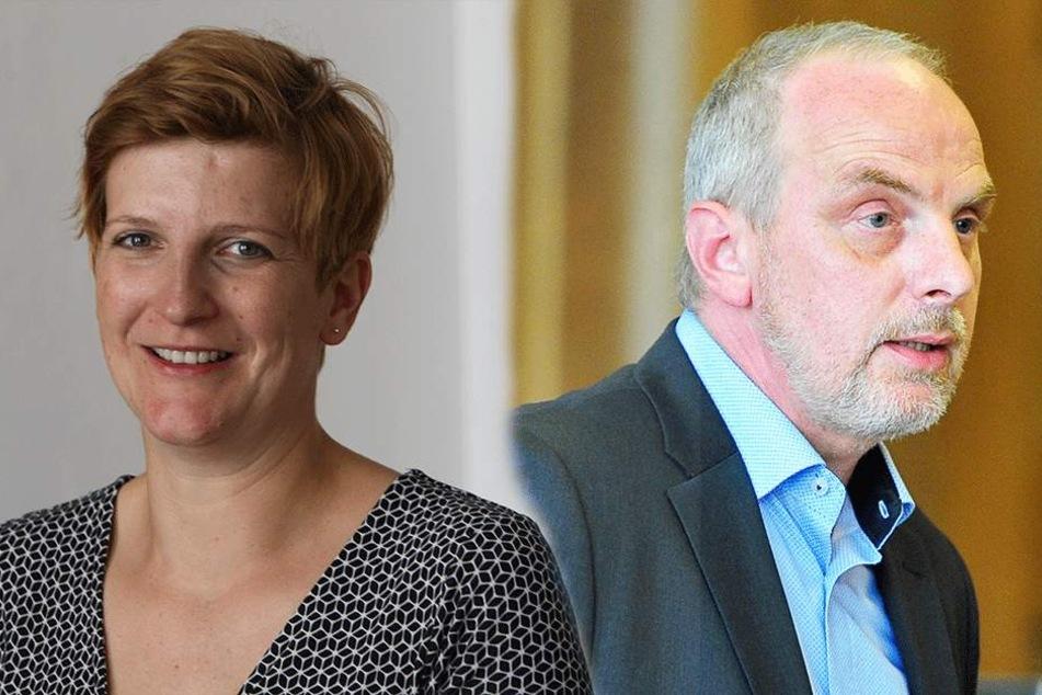 Susann Rüthrich (41) und Detlef Müller (54).