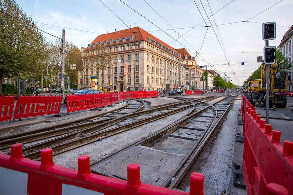 Ab Montag wird im Leipziger Süden wieder gebaut. Deshalb verkehren die Linien 9, 10 und 11 anders als sonst.