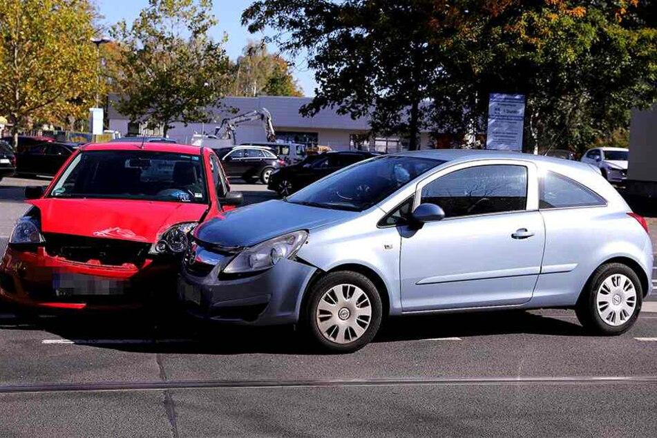 Ob die Fiesta-Fahrerin womöglich unaufmerksam war oder durch Sonnenlicht geblendet wurde, steht noch nicht fest.