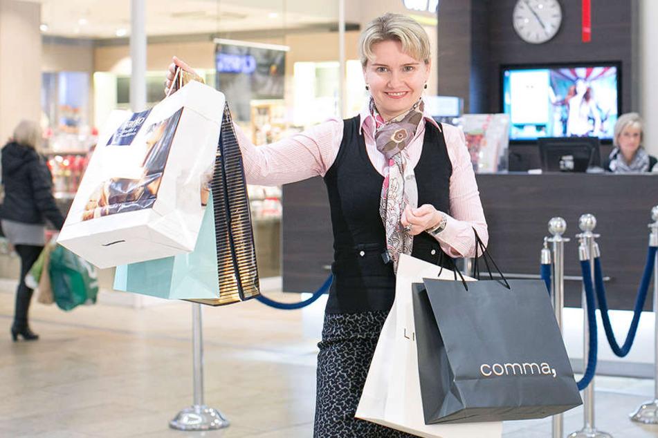 Die Center-Managerin der Altmarktgalerie, Nadine Strauß, wirbt ganzjährig um  russische Kundschaft. Ob es hilft?