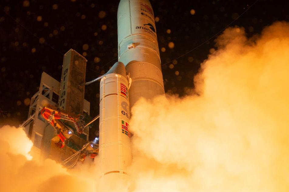 Die europäisch-japanische Raumfahrtmission startete am 20. Oktober. (Symbolbild)