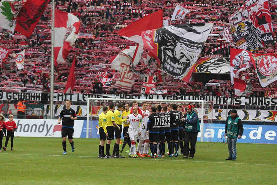 9. Februar 2014: Der 1. FC Köln empfing den SC Paderborn am 20. Spieltag der Bundesliga.