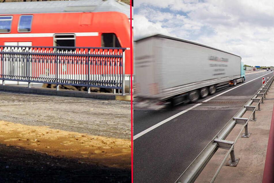 In der S-Bahn nach Dresden und auf der Autobahn 17 wurden Kriminelle von der Polizei gestoppt.