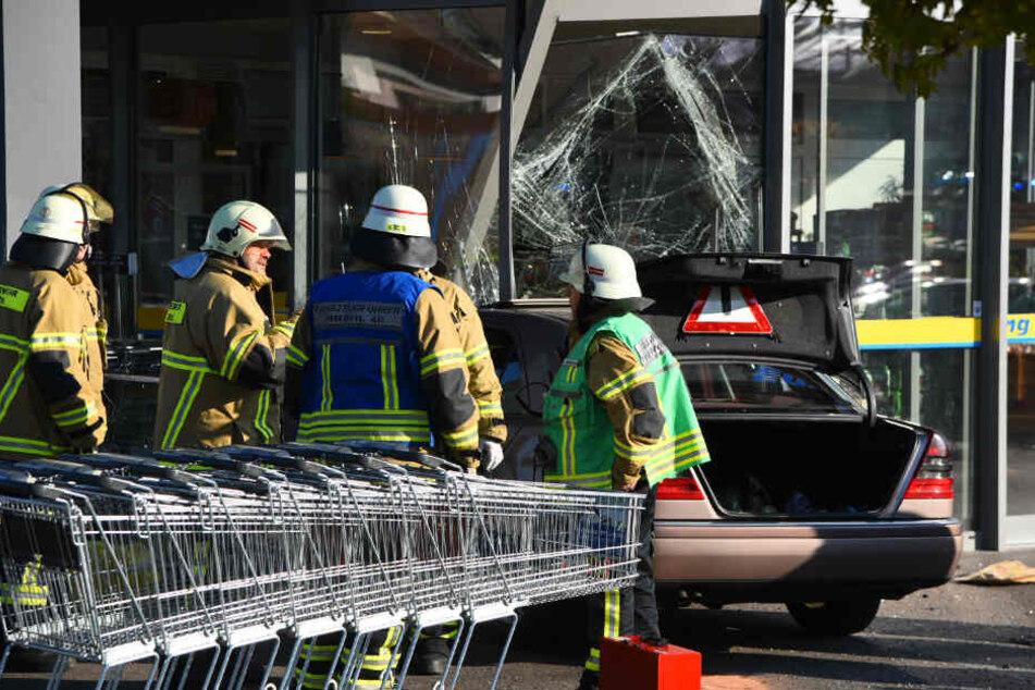 Feuerwehr am Unfall-Ort.