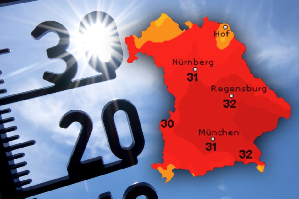 Sommerliches Wochenende oder Regenschirm? So wird das Wetter in Bayern