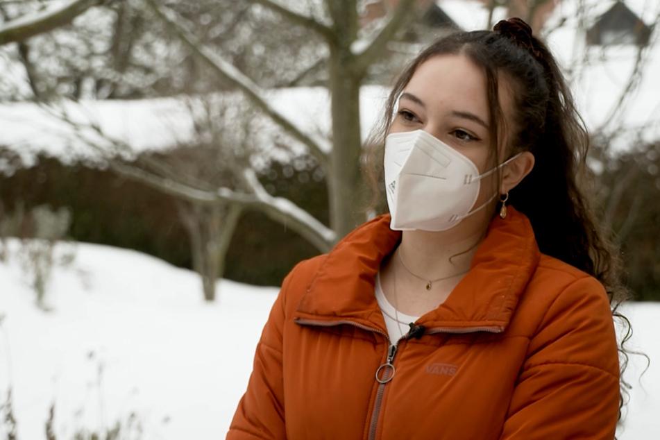 Die 17-Jährige Selina Seebauer sorgte wegen einer Schulnote in der gesamten Nachbarschaft für schnelles Internet.