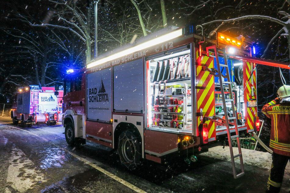 Schon wieder Feuerwehr-Einsatz in abgebranntem Kaufhaus