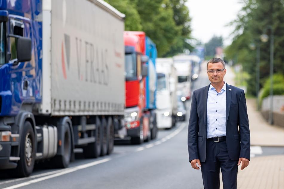 Hart gekämpft: Ralf Rother (49), Bürgermeister von Wilsdruff.