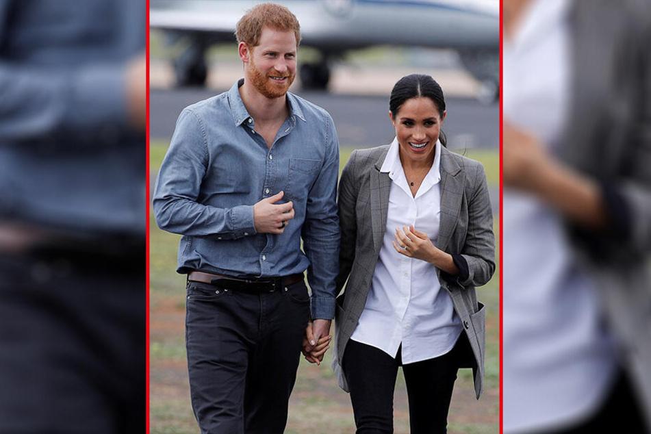 Prinz Harry und Herzogin Meghan könnten in Kürze Eltern sein.
