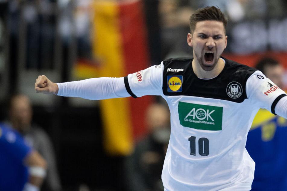 Fabian Wiede konnte schon in der Vorrunde dem deutschen Spiel seinen Stempel aufdrücken.