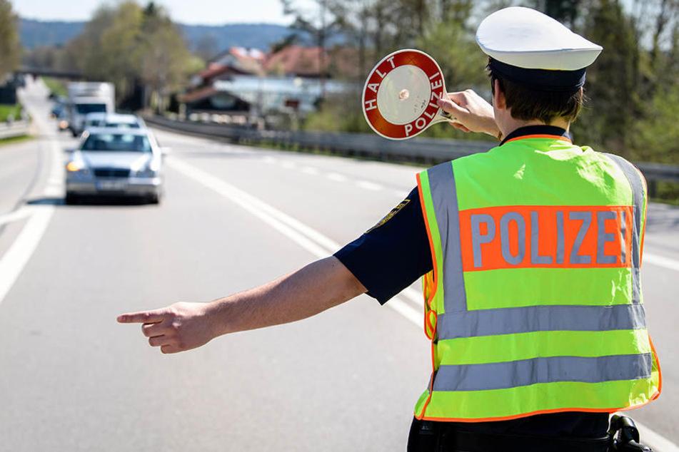 Unglaublich, was Polizisten bei Kontrolle eines Autos alles entdecken