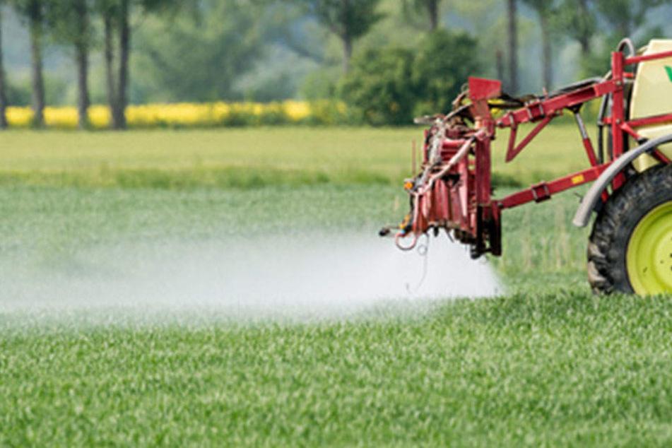 Glyphosat wird in ganz Deutschland eingesetzt.