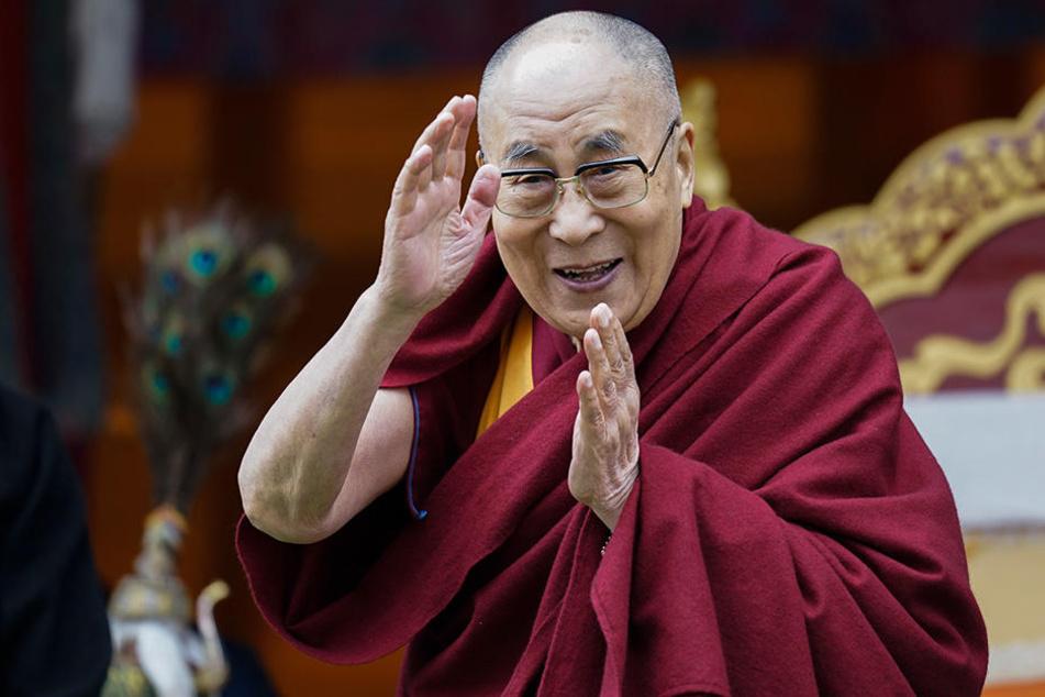 Das spirituelle Oberhaupt des tibetischen Buddhismus kommt im September in die Main-Metropole.
