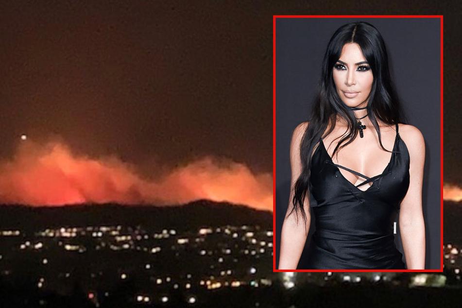 Kim Kardashian in Angst: Sie muss vor Waldbränden in Kalifornien fliehen