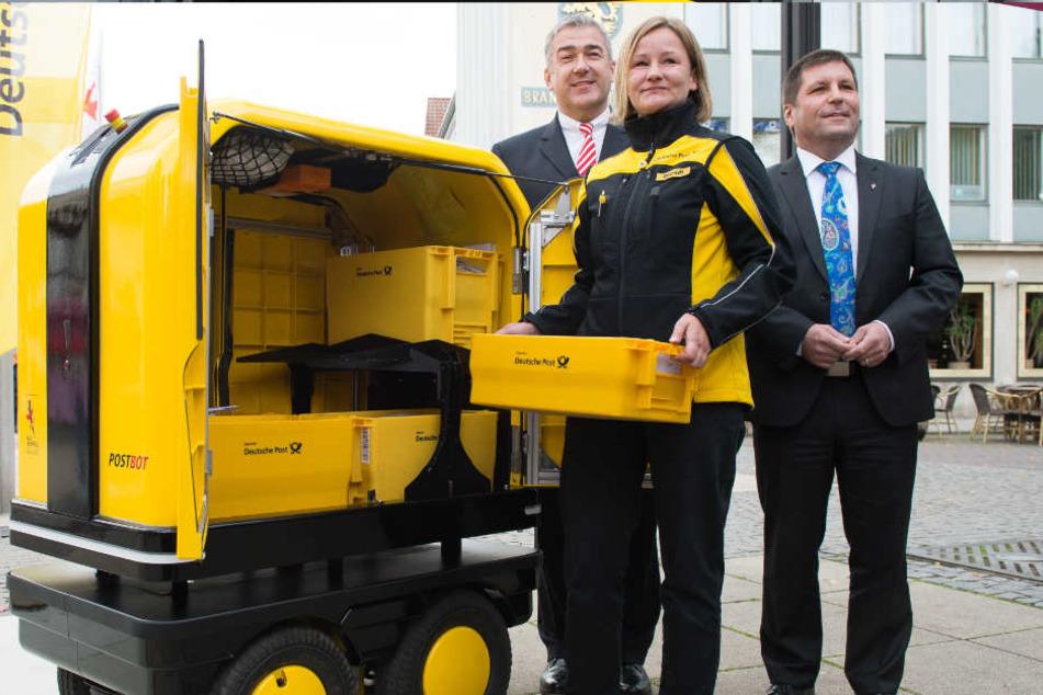 Vor allem schwere Sachen ließen sich mit dem Roboter leichter transportieren.