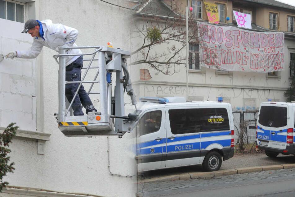 Dresden: Nach Räumung der Königsbrücker: Das passiert jetzt mit den Häusern