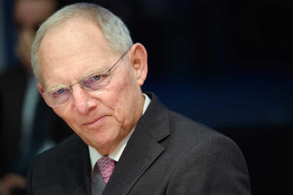 Bundestagspräsident Wolfgang Schäuble.