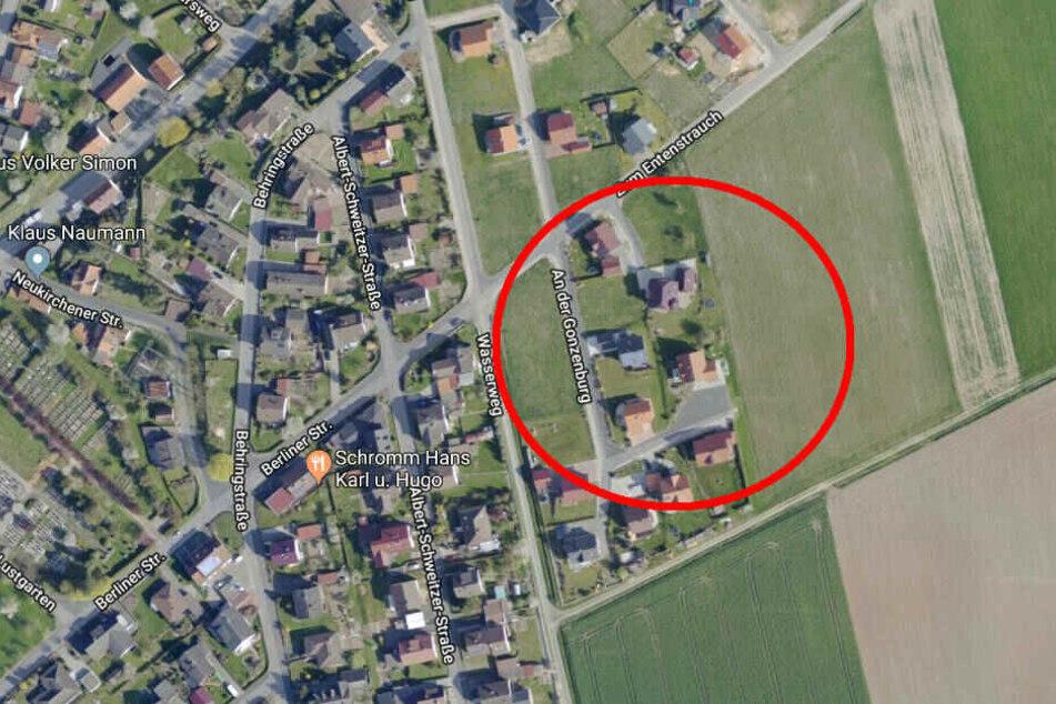 """Der Diebstahl ereignete sich in der Straße """"An der Gonzenburg""""."""