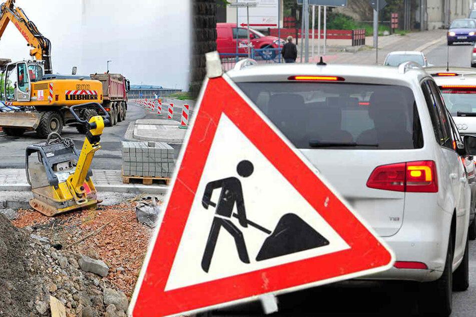 Totales Bau-Chaos! 50 Staufallen blockieren Chemnitz