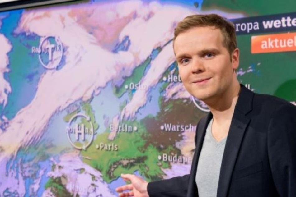 moma-Wetterfrosch Benjamin Stöwe (33) freut sich auf sein Picknick in  Dresden.