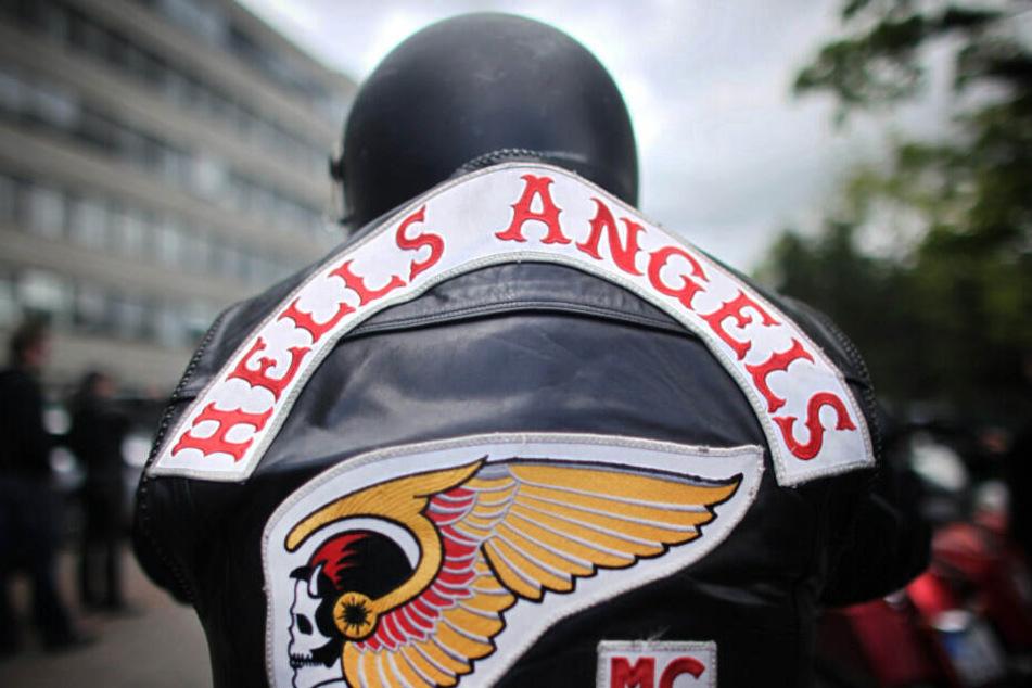 Angeklagt sind Rocker der Hells Angels. (Symbolbild)
