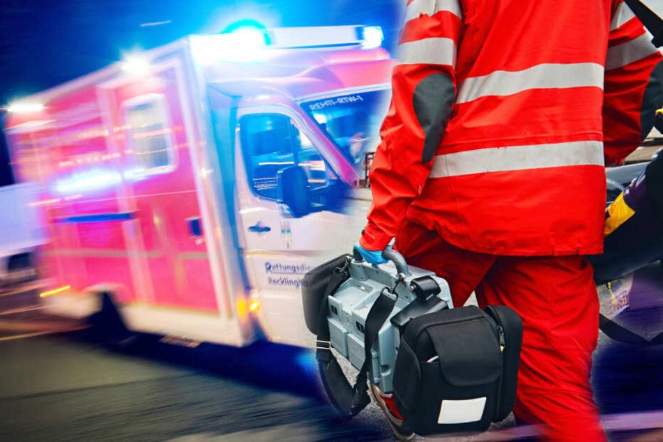 Schnelles Eingreifen von Ersthelfern und Rettungskräften sicherte das Überleben des Patienten (Symbolbild).