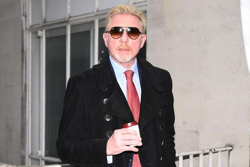 Boris Becker kommt am 10.12.2018 am Central Family Court in London zu einer Anhörung. Das Familiengericht plant die Anhörung im Scheidungsfall des Ehemaligen Tennisspielers und seiner Frau Lilly.