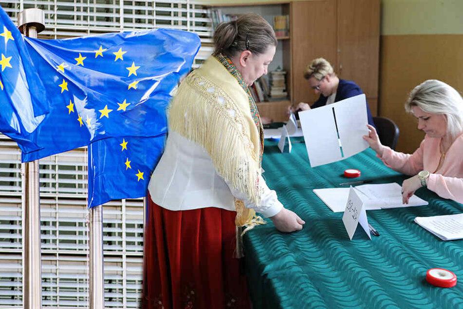 Wahlhelfer kommt total besoffen ins Wahlbüro und will sofort loslegen