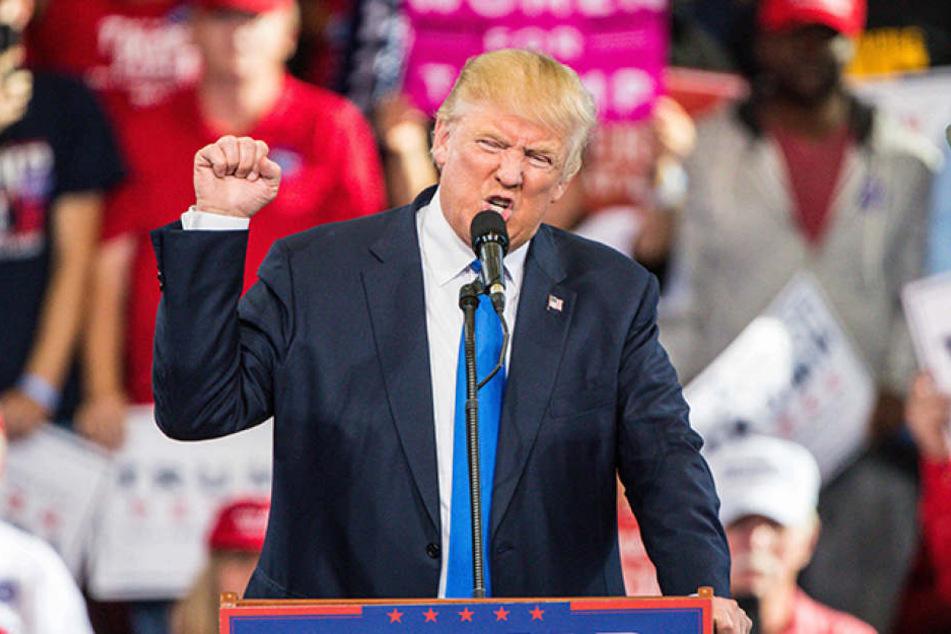 Republikaner Donald Trump (70) ist der wohl umstrittenste Präsidentschaftskandidat aller Zeiten.