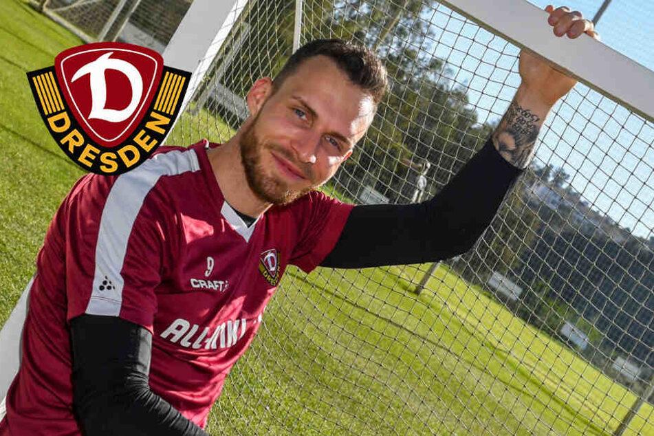 Dynamo Dresden: Patrick Schmidt ist ein Typ wie Stefan Kutschke