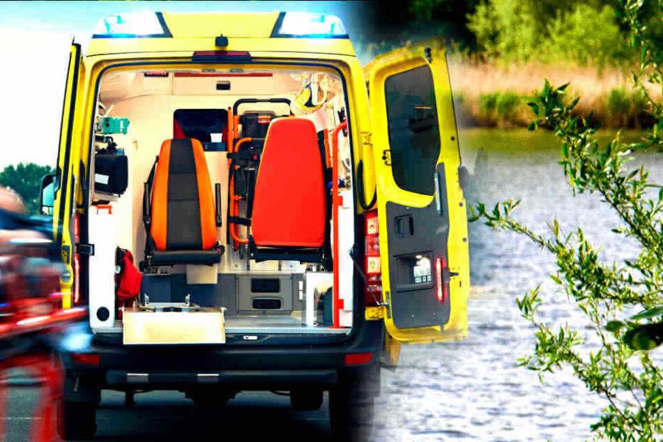Die Rettungskräfte konnten den vermissten 56-Jährigen nur noch tot aus dem Schildower Kiessee bergen. (Symbolbild)