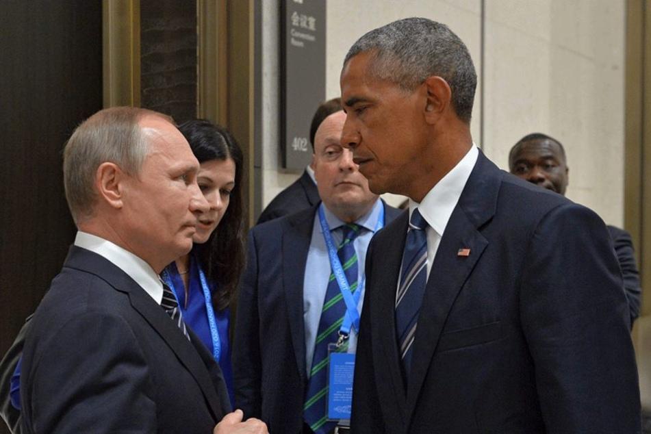Wladimir Putin und Barack Obama werden keine Freunde mehr. Zum Ende seiner Amtszeit macht der US-Präsident nochmal richtig Druck auf Russland.